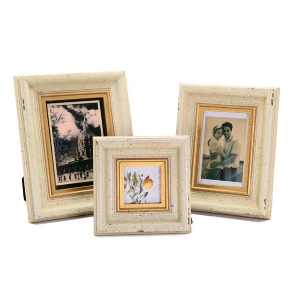 high quality square solid wood art photo frame picture artwork home decoration gallery framework porta retrato