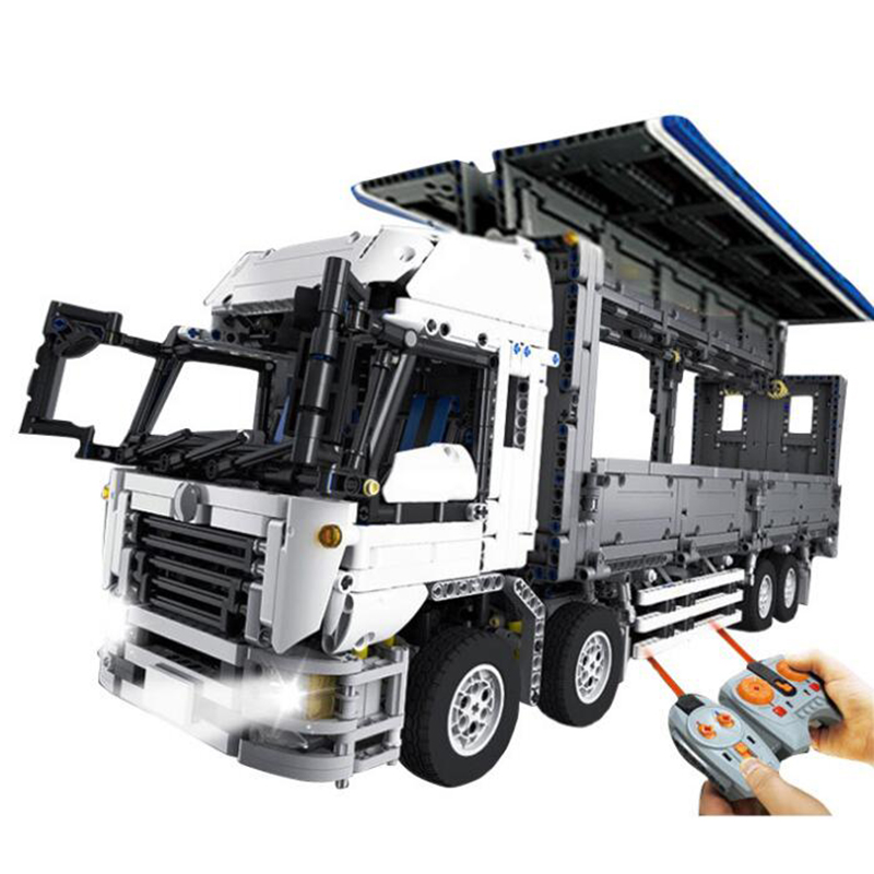 Lepin 23008 4380Pcs New Technical Series The MOC Wing Body Truck Set 1389 Educational Building Block Bricks Children Toys Gift 23008 4380pcs technical series the moc wing body truck set compatible with 1389 educational building blocks children toys