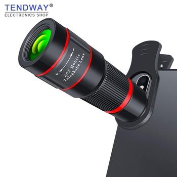 20X Zoom Teleobiettivo 4 K HD Monoculare del Telescopio Del Telefono Dell