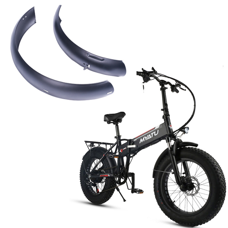 20inch Snowboard electric bicycle Wings special fender mud guard folding fat tire Sturdy stainless steel Special