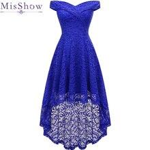 Asymmetrical Robe De Soiree Lace Short Evening Dress plus size vestido de festa Party Prom Dresses A-line Homecoming Dress plus contrast binding asymmetrical wrap dress