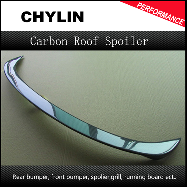 Car styling fit for BMW E90 AC type rear spoiler wing trunk lip CFRP real carbon fiber reinforced polymer