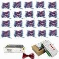 1000 piezas WS2811 Pixel led módulo 12mm IP68 RGB difusa direccionable para signo carta DC 5 V + T1000S controlador + adaptador de corriente