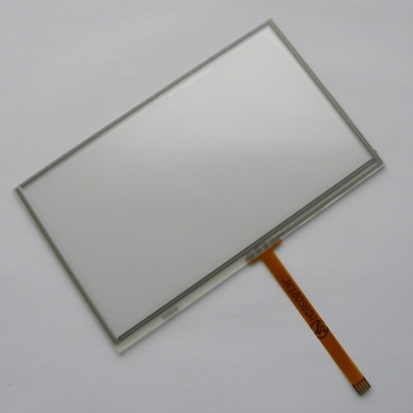 New 5 inch 4Wire Resistive Touch Panel Digitizer Screen For Prestigio GeoVision 5200BT font b GPS