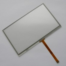 New 5 inch 4Wire Resistive Touch Panel Digitizer Screen For Prestigio GeoVision 5200BT GPS Free shipping
