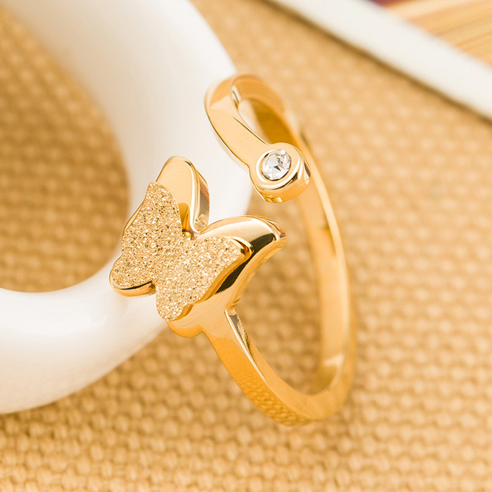 butterfly engagement rings