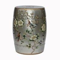 Fashion Ceramic Drum Stool Fashion Change A Shoe Stool Home Decoration Accessories Dressing Stool Housewarming Gift