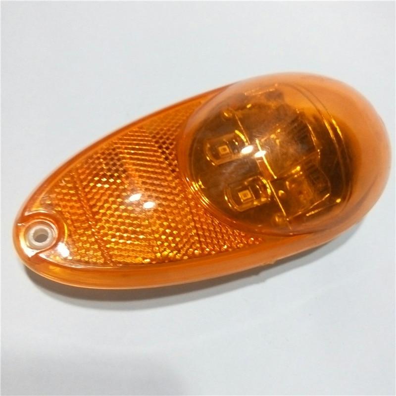 2Pcs 12V / 24V οδήγησε φώτα σήμανσης - Φώτα αυτοκινήτων - Φωτογραφία 3