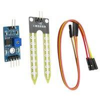 Higrômetro do solo módulo de detecção umidade sensor de água umidade do solo para arduino kit diy