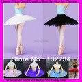 Ballet Dancewear Skirt Ballet Clothes Costume Adult Professional Ballet Tutu Hard Organdy Platter Skirt Dance Skirt with 5 layer
