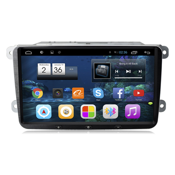 9 Android Car Stereo Audio Headunit Autoradio for VW Volkswagen Polo Golf 5 6 Passat CC Jetta Tiguan Touran Fabia image