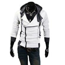 Mens Korean Long Sleeve Hoodies SweatshirtHot Sale New font b Assassins b font font b Creed