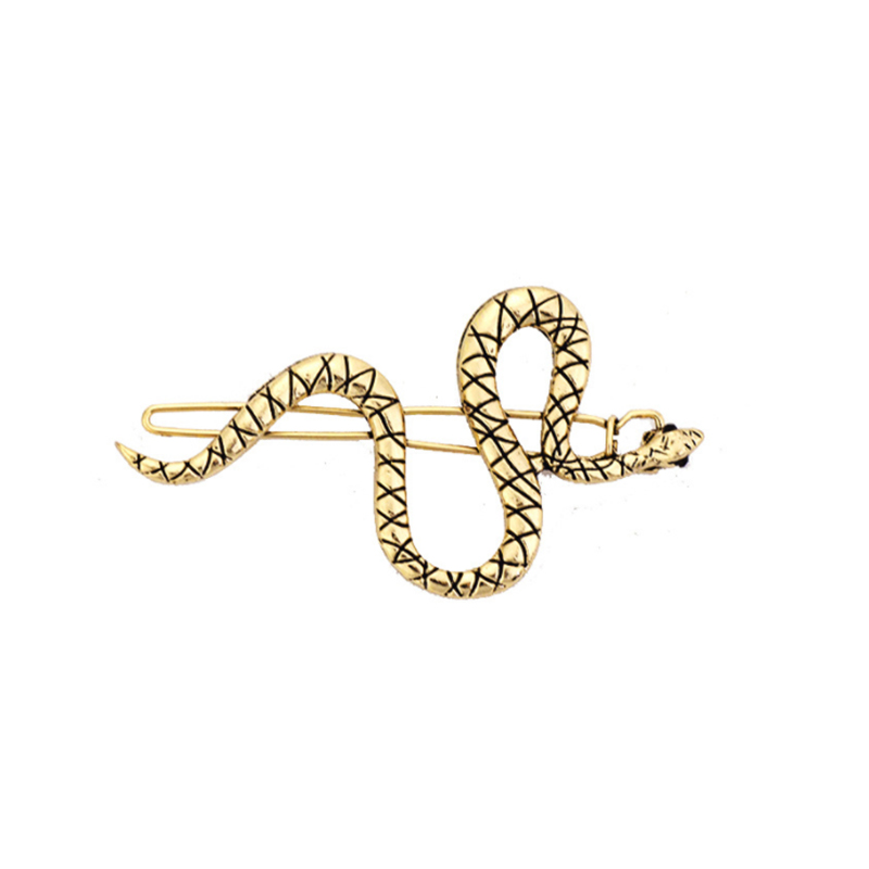 Direct Selling Diy Hot Selling Factory Direct Supply 2pcs Hairpin Snake Hairpin S Type Word Unique Hair Accessories