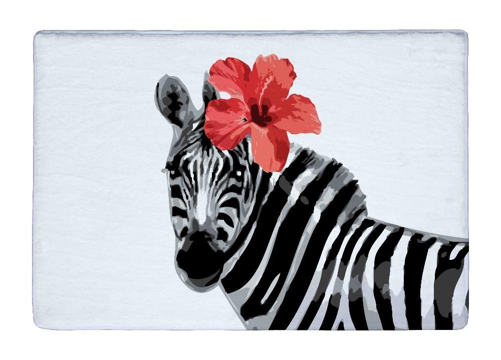 Compra alfombras de cebra online al por mayor de china - Alfombras de cebra ...