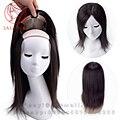 Шелк база парик Человеческих Руки связали Бразильский реми Человека шиньоны система волосы замена Прямо женщины невидимые Узлы парик