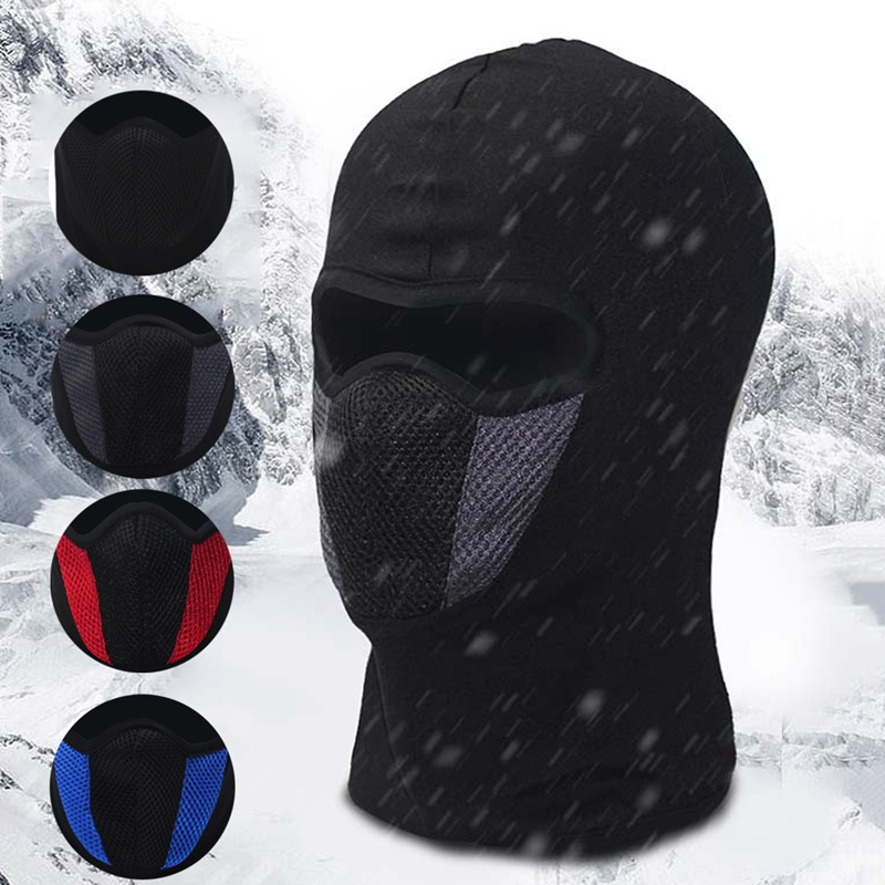 Sports & Entertainment Windproof Motorbike Cycling Face Mask Balaclava Outdoor Riding Bike Ski Face Mask Breathable Motorcycle Helmet Hood With Traditional Methods Cycling Face Mask