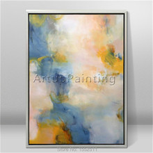Modern abstract beautiful Colour oil painting Hand painted canvas the sitting room decorative 5