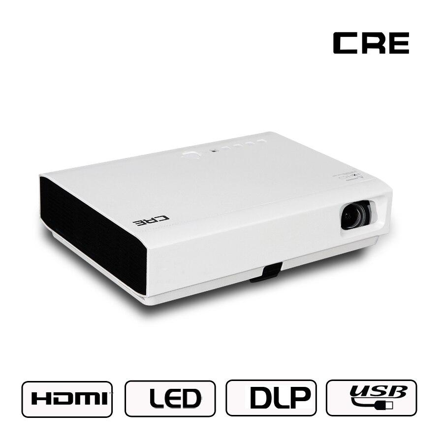 Genossenschaft Neue Ankunft Dlp 3d Projektor 300-inch Bildschirm 1280x800 P 3000 Lumen Wifi Mini Smart Home Cinema Proyector Jade Weiß Lcd-projektoren