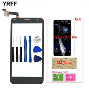 Image 2 - Mobile Front For Alcatel One Touch PIXI 4 5.0 OT 5010 OT5010 5010D 5010E 5010G OT 5010 Touch Screen Glass Digitizer Panel Sensor