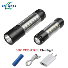 USB flashlight portable mini CREE XML T6 LED Warning Light 3000 lumen torch waterproof flash light linterna rechargeable battery shenyu led flashlight 26650 torch waterproof flashlight cree xml t6 l2 600 lumen zoomable portable bike camping light aa battery
