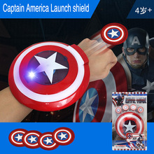 Marvel Avengers 4 Super Heroes Glove Launcher Props Spiderman Hulk Iron man Cosplay Cool Gift toys for children