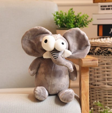 New Animal Plush Forest Boy Plush Toy Boy Gift Toys For Children Hobbies Action Toy Figures Big Eye Animal Plush stuffed toys