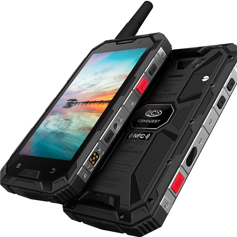 Nestest S8 Smartphone IP68 Waterproof shockproof 4GB RAM 64GB ROM MTK6755 Octa Core Android 6.0 6000mah battery mobile phone