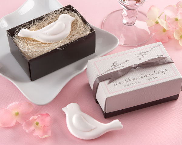10pcs Love Dove Scented Soap Favors Wedding Gifts Wedding Souvenirs