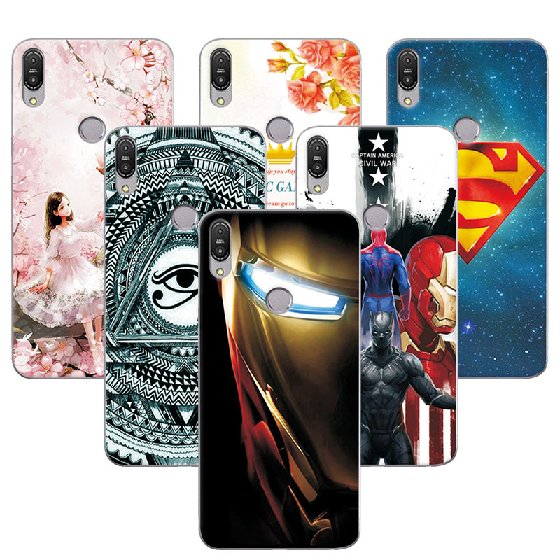 YOUVEI Iron Man Phone Case For ASUS Zenfone Max Pro M1 ZB601KL Attractive Back Cover For ASUS Zenfone Max Pro M1 ZB601KL 6.0