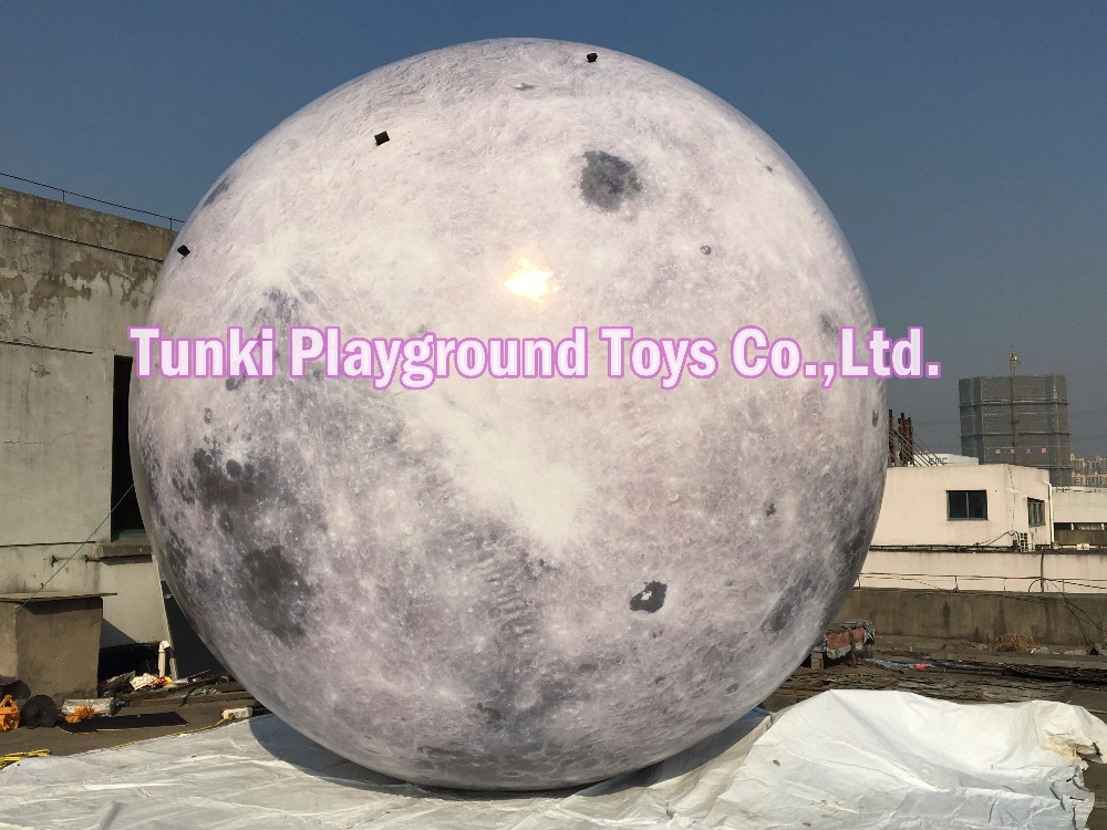 3 Meters Diameter giant inflatable moon, inflatable moon ball, moon balloon for events3 Meters Diameter giant inflatable moon, inflatable moon ball, moon balloon for events