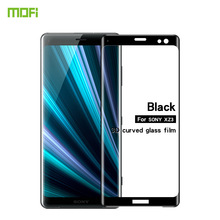 For Sony Xperia XZ3 Glass Tempered MOFi 3D Curved Full Cover Protective Film Screen Protector
