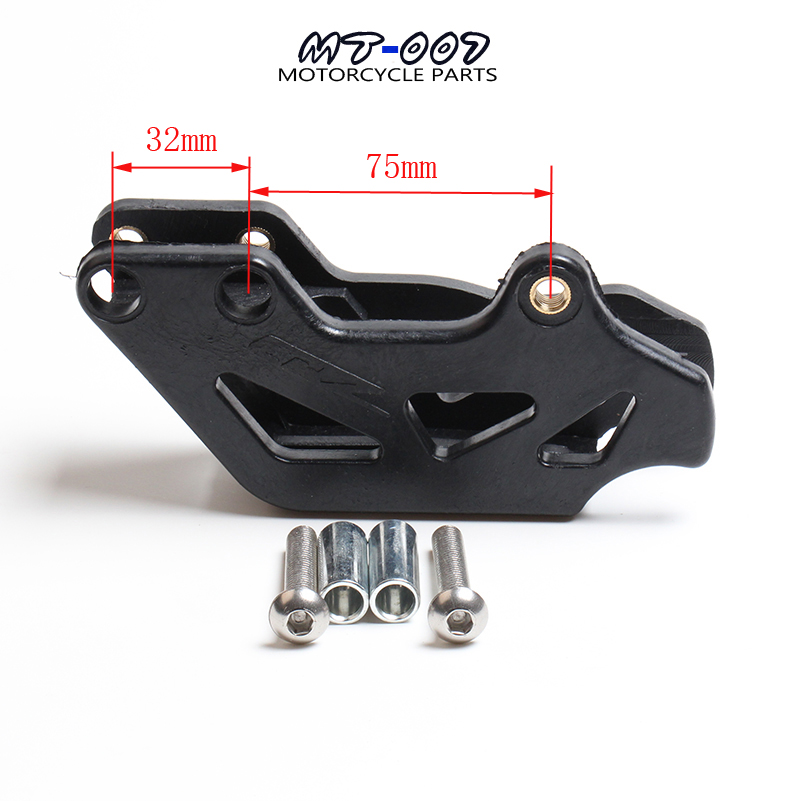 Free Shipping ABM XMOTOS 520 530 Chain Guide Fit 125 200 250 300 400 450 520 525 350 EXC SX MXC SXS Guard Dirt Bike Parts