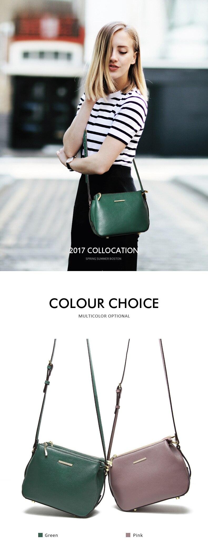 JIANXIU Marca Mulheres Messenger Bags Couro Litchi