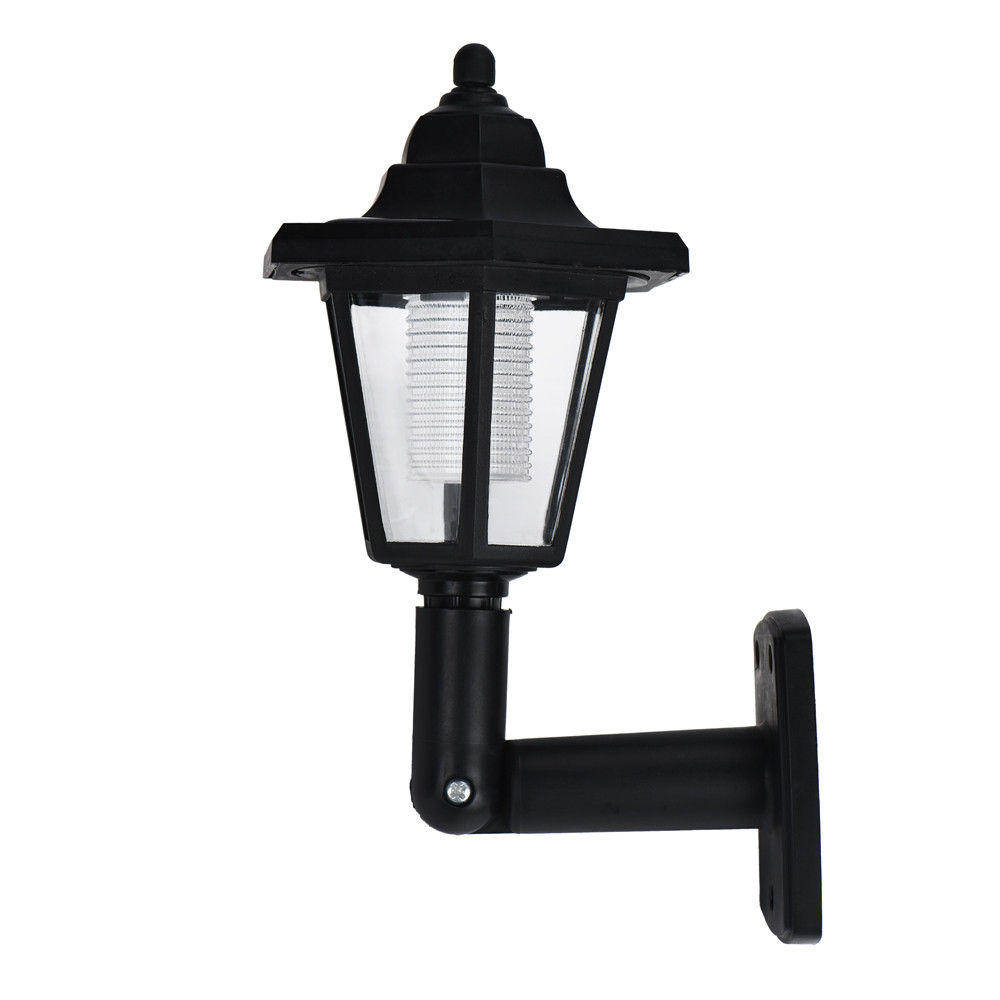 Exterior Led Light Fixtures Solar Power Led Light Path Way Wall Landscape Mount Garden Fence Lamp Outdoor Led Wall Light For