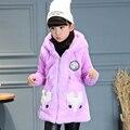 Children's clothes, summer, fall, critical leisurely 2016 han edition girls fashion coat cuhk children's fox fur garments