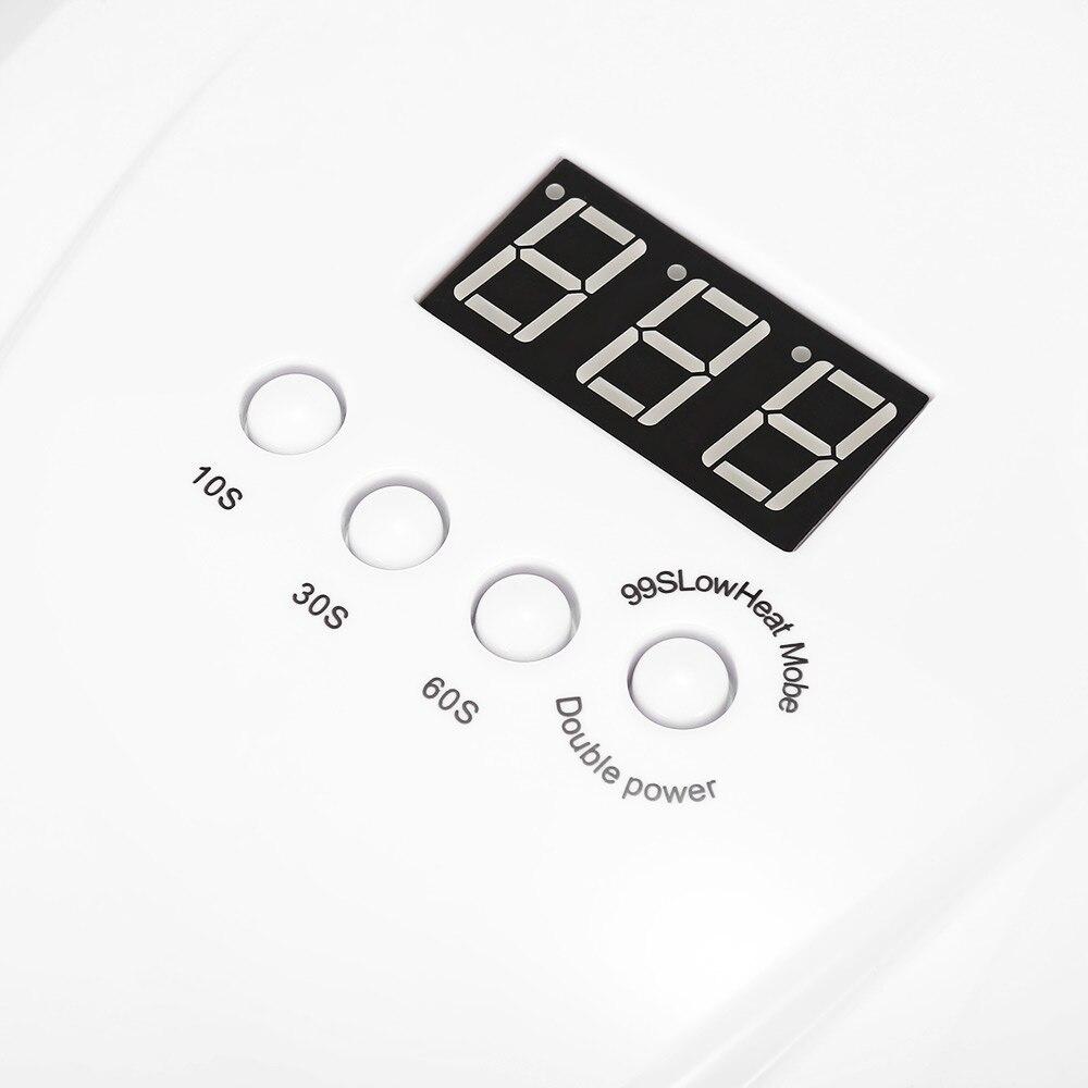 SUN X 48/54W Nail Dryer UV LED Lamp LCD Display 36 LEDs