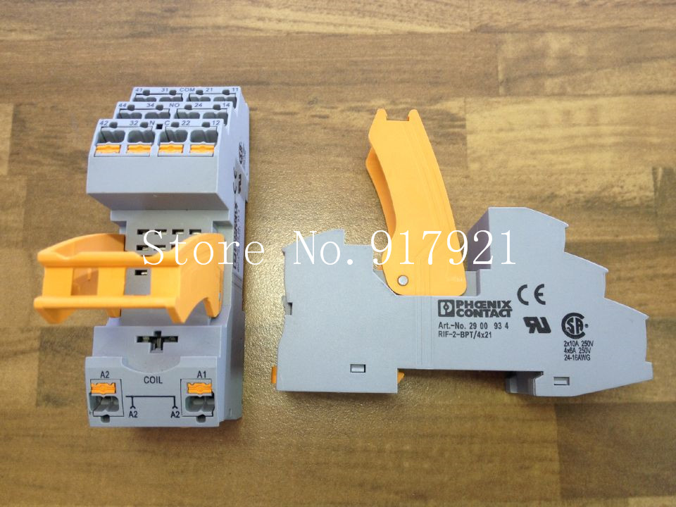 все цены на [ZOB] The German PHOENIX CONTACT Feinikesi RIF-2-BPT/4X21 relay 2900934  --5pcs/lot онлайн