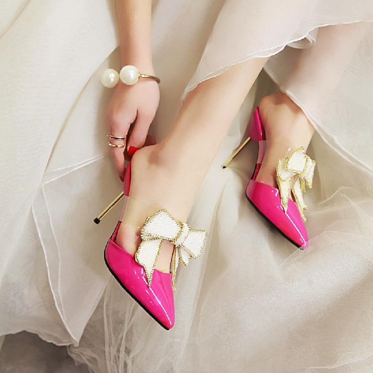 2019 Summer Shoes Pointed Toe Elegant Wedding Shoes Woman Thin Heel Butterfly Knot Pumps Women Shoes High Heels Shoes2019 Summer Shoes Pointed Toe Elegant Wedding Shoes Woman Thin Heel Butterfly Knot Pumps Women Shoes High Heels Shoes