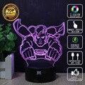Superman 3D Lamp Spiderman Batman Iron Man Lamp LED Novelty Night Lights USB Light Child's Birthday Gift HUI YUAN Brand