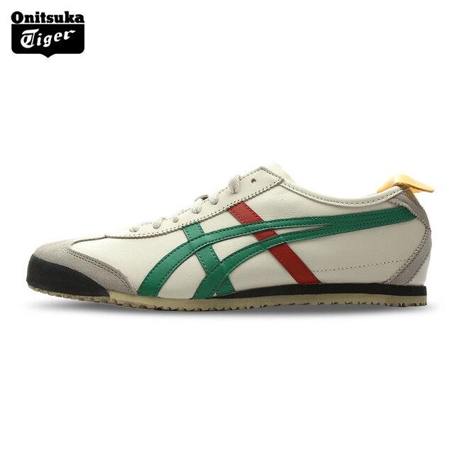 Onitsuka Beige Classique Tiger Mexico 66 Chaussures Classiques Pour Les Femmes 6ux1a56