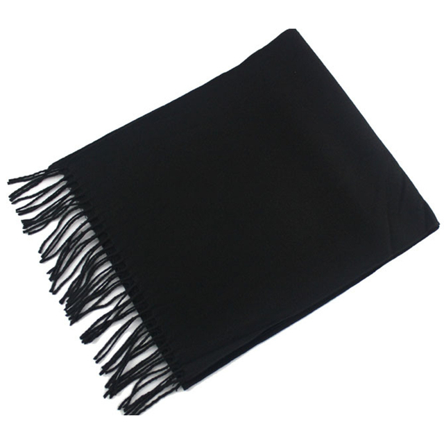 New Man's Wool Spinning Solid Color Scarf the Lovers Autumn and Winter Keep Warm Scarves with Tassels High Quality SHI167221