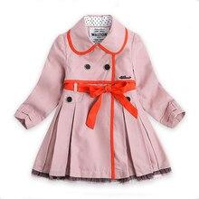 2015 новый осень зима Внешней торговли девушки Радуга красочные полосатый куртки дети флис с капюшоном дизайнер ветровка