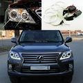 Для Lexus LX570 2012 2013 2014 Отлично angel eyes Ультра яркое освещение CCFL Angel Eyes kit Halo Кольцо