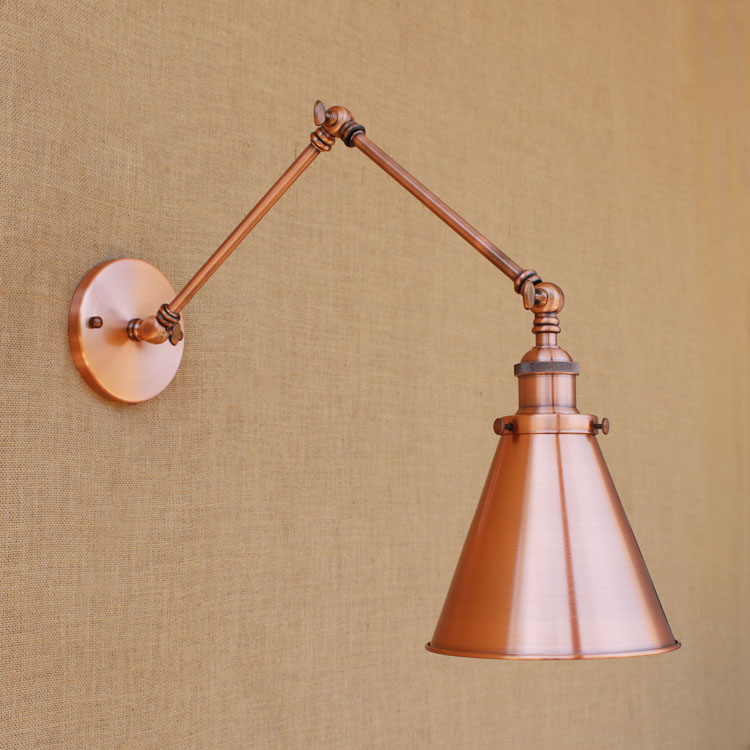 Loft Style Edison Wall Sconce Bedside Lamp Long Arm Industrial Vintage Wall Light Fixtures Indoor Lighting Lampara Pared long swing arm retro vintage wall light fixtures edison rustic loft style industrial lamp wall sconce wandlampen lampara pared