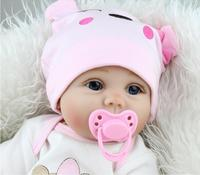 New born Full Body silicone reborn babies Dolls Vinyl Realistic Collectible Reborn baby reborn Simulator For Girls