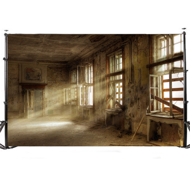 5x3FT Vintage Thin Vinyl Photography Backdrop photo Studio Props window sunshine indoor Photography background 90 x 150cm