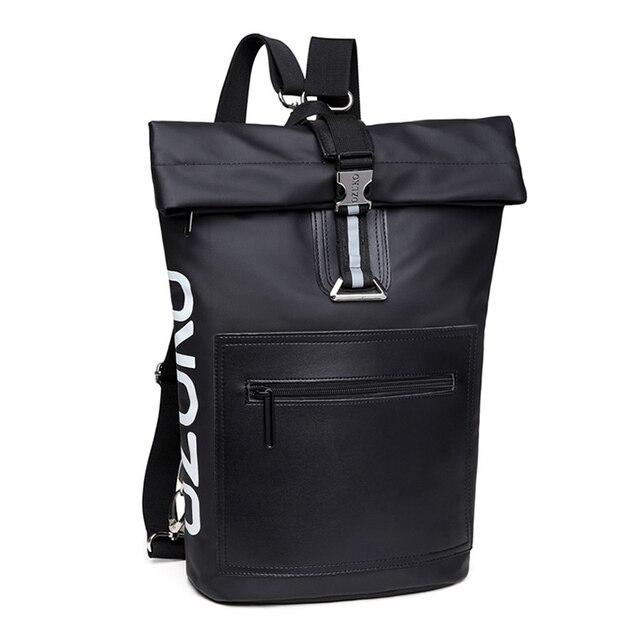 FGGS-OZUKO Bolsa de Ombro Moda Casual Multi-Função Saco de Viagem Ao Ar Livre