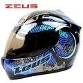 Новый бренд зевс 2000A шлем полной стороны шлема профессиональная гоночная мотоциклетный шлем moto каско motocicleta capacete DOT утвержден