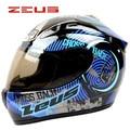 New brand ZEUS 2000A helmet full face helmet professional racing motorcycle helmet moto casco motocicleta capacete DOT Approved