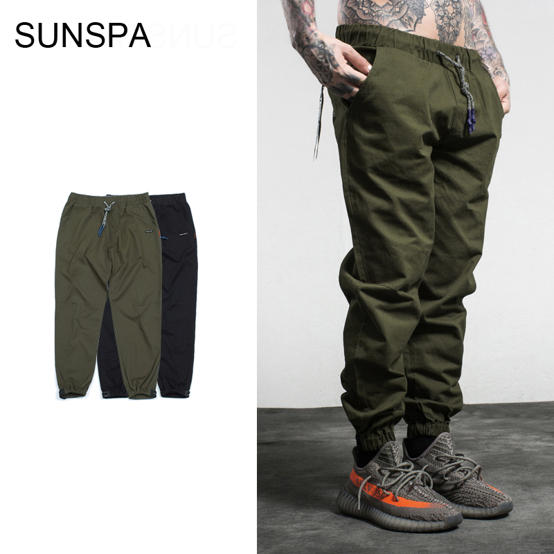 SUNSPA casual men s pants 2017 autumn and winter new trousers feet Slim Harem pants Fashion